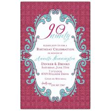 7 best 90th invites images on pinterest 90th birthday