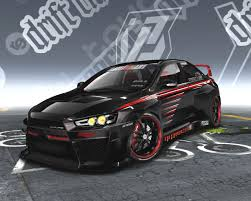 mitsubishi evolution concept evolution concept x by wonderboy need for speed pro street nfscars