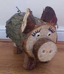 wooden garden ornaments made with large solid logs co uk