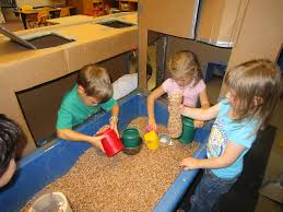 Toddler Sensory Table by Sand And Water Tables The Big Boxes Migrated To The Sensory Table