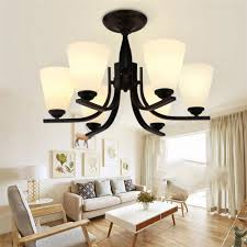 american country wrought iron garden lamps modern minimalist white