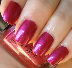 opi nail lacquer polish jewel of india black label pink
