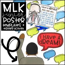 martin luther king writing activity the inspired apple