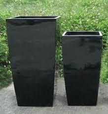 Square Planter Pots by Large Plant Containers U2013 Eatatjacknjills Com
