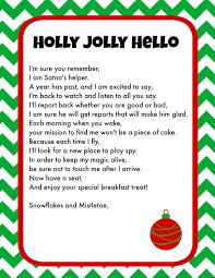 elf on the shelf breakfast ideas printable letter u0026 christmas pjs
