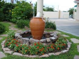 Water Feature Ideas For Small Gardens Water Fountains Front Yard And Backyard Designs More