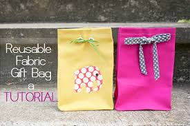 cloth gift bags zaaberry fabric gift bag tutorial