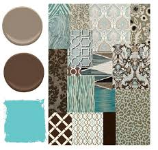 brown and turquoise color scheme trim color schemes for brown