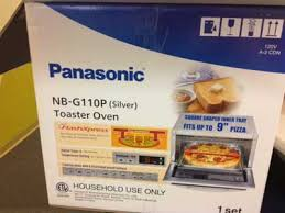 Toaster Box Panasonic Nb G110p Flash Xpresstoaster Oven Box Viewpoints Articles