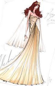 christian siriano wedding dresses dress sketches christian