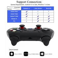 how to connect ps3 controller to android original gamesir g3s gamepad for ps3 controller bluetooth 2 4ghz