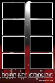 hollywood photo booth layout choose your layout