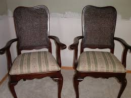 How To Upholster A Dining Chair Back Uncategorized Reupholstering Chairs Within Reupholstered