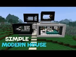 Simplemodern Minecraft Simple Modern House Youtube