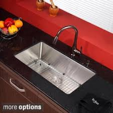 kitchen sink and faucet combo sink faucet sets shop the best deals for nov 2017 overstock