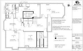 Example Of A Floor Plan Under Construction