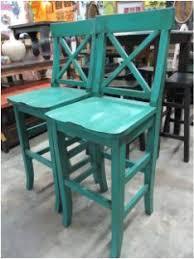 distressed bar stool