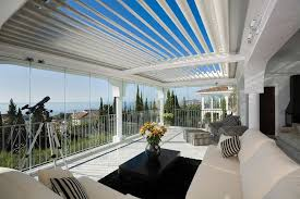 Louvered Roof Pergola by Adjustable Louvre Roof Systems Vergola Australia
