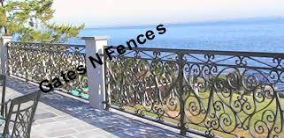 railings balcony porch deck rails metal aluminum wrought iron railings