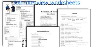 english teaching worksheets job interview