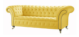 Uk Chesterfield Sofa by Yellow Leather Chesterfield Sofa Handcrafted In The Uk