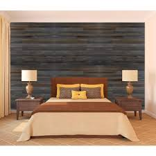 home depot wall panels interior null wall design 3 8 in x 22 in x 96 in rustic faux barn wood