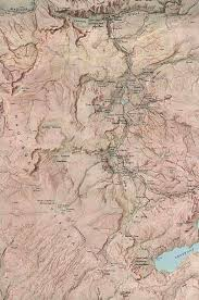 Montana River Map by