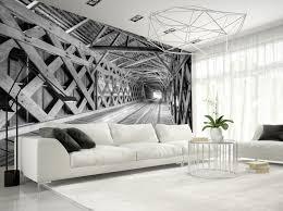 photo wallpaper wall murals non woven 3d modern art optical zoom