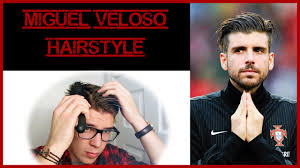 how to do miguels hair cut miguel veloso hairstyle 2014 football player hair tutorial youtube