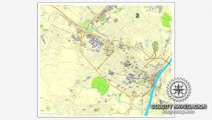 vector map albany new york us printable vector city plan map