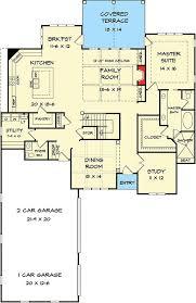 1st Floor Master House Plans Plan 36052dk Outstanding Craftsman House Plan Craftsman House