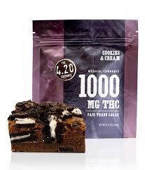 thc edible cookies 4 20 brownie 1 000mg thc bud oc