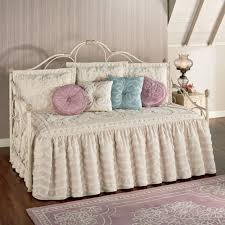 Comforter Sets For Daybeds Intrigue Chenille Ruffled Flounce Daybed Bedding Set