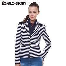ladies jacket casual slim spring women blazer coat long sleeve one