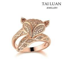 model wedding ring 2017 new model wedding ring fashion gold fox rings