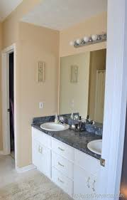 stick on frames for bathroom mirrors how to frame out that builder basic bathroom mirror for 20 or less