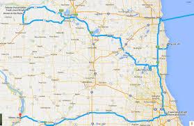 Iowa Illinois Map Road Trip Maps U2013 Mattb U0027s Travel Blog