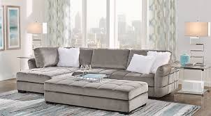 Grey Sofa With Chaise Sectional Sofa Sets Large U0026 Small Sectional Couches