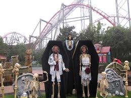 theme park halloween decor google search church outreach stuff