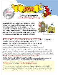 10 Children S Books That Inspire Creativity In Grumbling Gryphon Summer Flyer 2015 Png