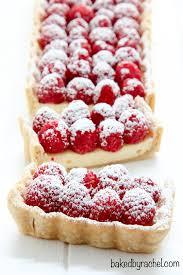 raspberry recipes cheesecake tart with fresh raspberries baked by rachel