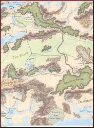 Faerun Map Shadows And Dust U003e Map Of Faerun