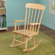 Unfinished Child S Rocking Chair Furniture Best Unfinished Wooden Rocking Chair Design For Modern