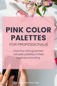 pink color palettes for professionals fetching finn inc