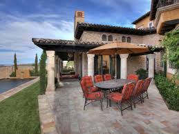 Creative Idea  Italian Backyard In Vintage Patio Design With - Italian backyard design
