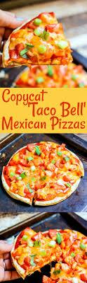 taco bell mexican pizzas copycat