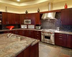 Best Southwestern Kitchen With Mosaic Tile Backsplash Ideas - Southwest kitchen cabinets