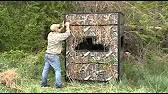 Ez Duck Blind Duck Blind How To Assemble Youtube