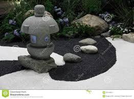 zen garden landscape stock image image of landscape 25744837