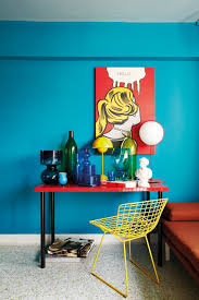 house tour this four room flat is filled with bold colourful